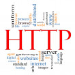 HTTP Word Cloud Concept — Stock Photo #11796770