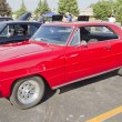 Stock Photo: Red 1967 Chevy Nova