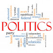 Stock Photo: Politics Word Cloud Concept