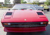 1977 Red Ferrari front view — Stock Photo