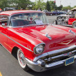 ������, ������: Two Door 57 Chevy Red