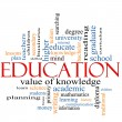 Stock Photo: Education Word Cloud Concept