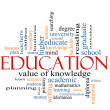 Education Word Cloud Concept — Stock Photo #11929672