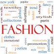 Fashion Word Cloud Concept — Stock Photo #11929703