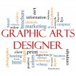 Royalty-Free Stock Photo: Graphic Arts Designer Word Cloud Concept