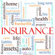 Royalty-Free Stock Photo: Insurance Word Concept Illustration