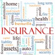 Insurance Word Concept Illustration — Stock Photo #11929807