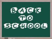 Back to School Blackboard — Stock Photo