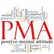 PMA Word Cloud Concept - Stock Photo