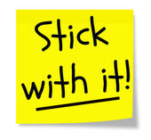 Stick With It Sticky Pad — Stock Photo