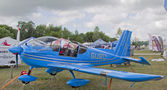Blue Ziln Z242L Guru Plane — Stock Photo