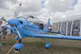 Blue Ziln Z242L Guru Plane Up Close — Stock Photo