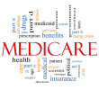 Medicare Word Cloud Concept - Stock Photo