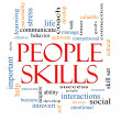 Stock Photo: Skills Word Cloud Concept