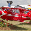 Red Pitts S-1S Airplane — Stock Photo