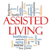 Assisted Living Concept — Stock Photo
