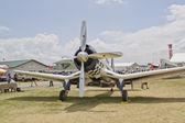 Super Corsair 74 front view — Stock Photo