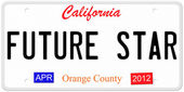 Futura star California — Foto Stock