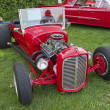 Stock Photo: Red 1927 Ford Roadster