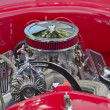 Stock Photo: Red 1927 Ford Roadster Engine