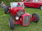 Red 1927 Ford Roadster — Stock Photo