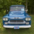 Stock Photo: 1958 Chevy Apache front view
