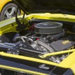1968 Yellow Camaro Engine — Stock Photo