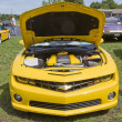 Постер, плакат: Yellow 2010 Chevy Camaro