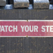 Watch Your Step — Stock Photo #12350837