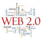 Web 2.0 Word Cloud Concept — Stock Photo