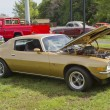 Stock Photo: Gold Z28 Chevy Camaro