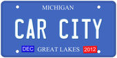 Car City Michigan — Stock Photo