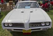 1969 Pontiac GTO front view — Stock Photo