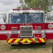 ������, ������: Pierce Fire Truck marked US Navy Pearl Harbor Front View