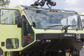 Oshkosh Corp Striker 3000 6x6 vehicle Close up — Stock Photo