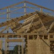 Stock Photo: Rafters and Framing