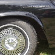 Stockfoto: 1957 Ford Thunderbird Wheel & Name