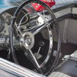 Stock Photo: 1957 Ford Thunderbird Interior