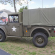 Vintage US Army Truck - Stock Photo