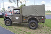 Vintage US Army Truck — Stock Photo