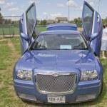 Постер, плакат: Chrysler 300 car with butterfly doors
