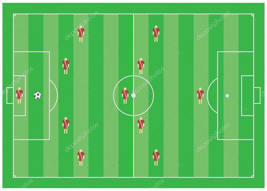 4-5-1 Футбол тактические схемы