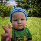 Amazing boy — Stock Photo