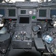 Stock Photo: Helicopter cockpit