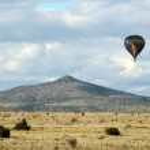 New Mexico countryside — Stock Photo