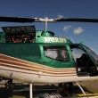 Stock Photo: Sheriff helicopter