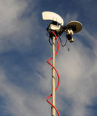 Antena móvil broadcst — Foto de Stock