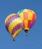 彩色热气球 — 图库照片