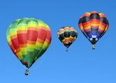 Färgglada luftballonger — Stockfoto