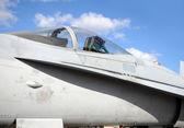 Jetfighter kokpitu — Stock fotografie